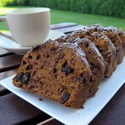 Ciasto z dynią i gorzką czekoladą