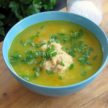 Zupa ziemniaczana z pulpecikami