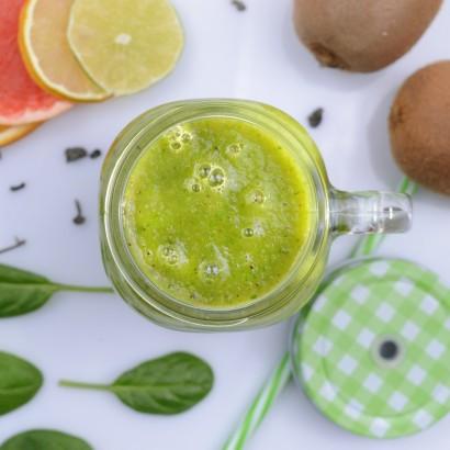 Smoothie z mango i zielonej herbaty