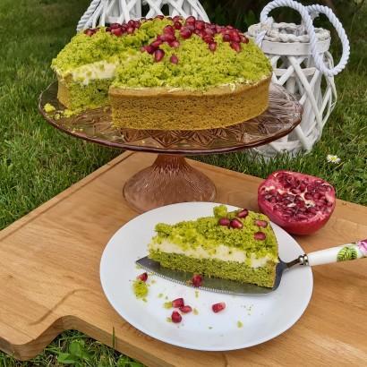 """Zielone ciasto """"Leśny mech"""""""