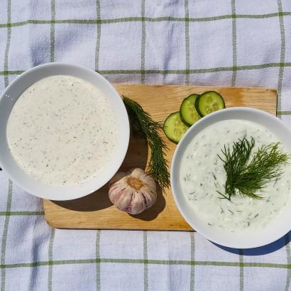 Białe sosy do grilla