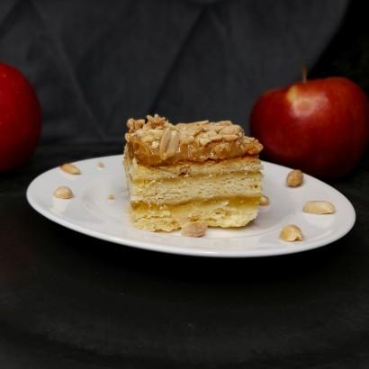 Jabłecznik z orzechami