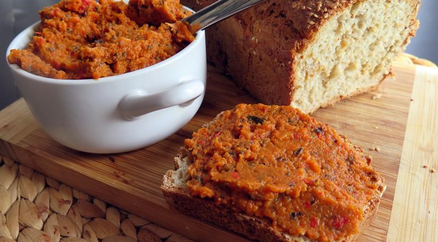 Pasta marchewkowo- paprykowa