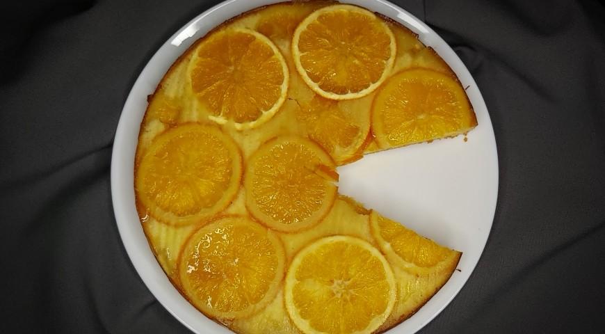 Ciasto z pomarańczą